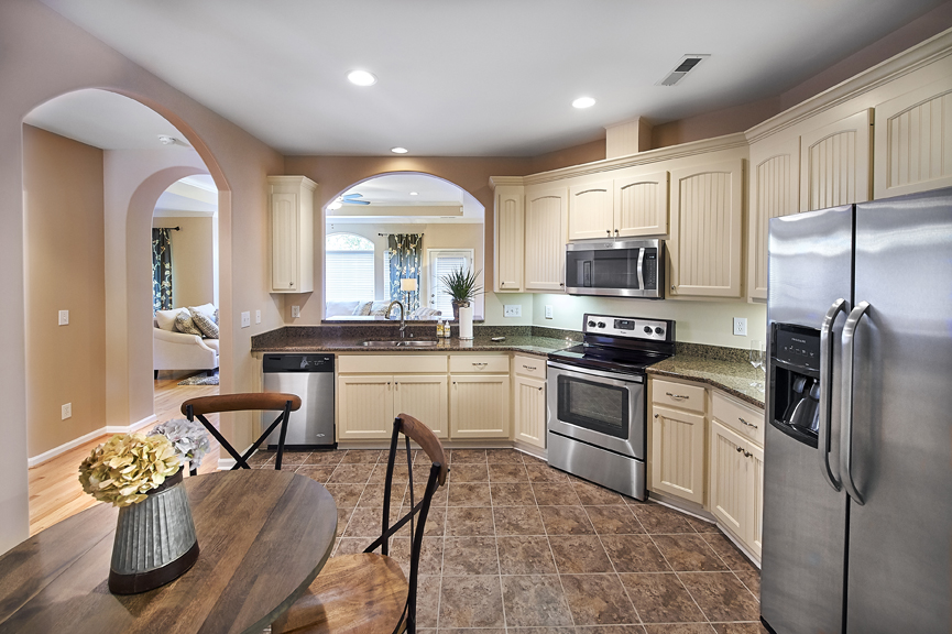 Kitchen of home at Redstone Village