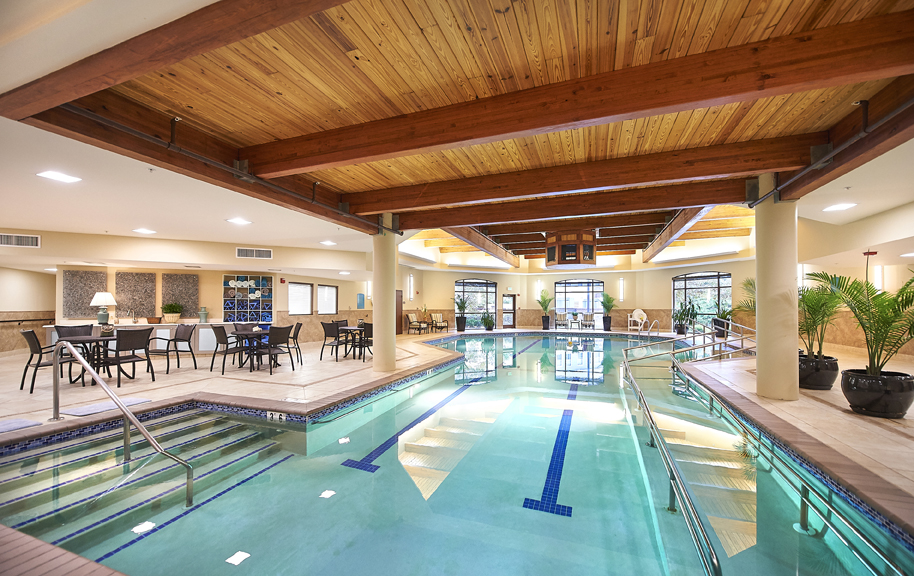 Redstone Village's Indoor Aquatics Center